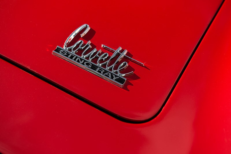 corvette c2 427 badge 2
