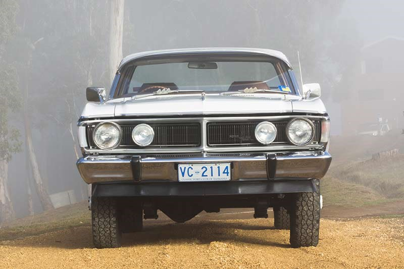 ford falcon xy utility front