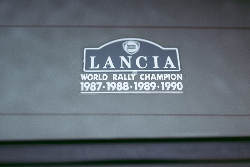 lancia delta integrale sticker