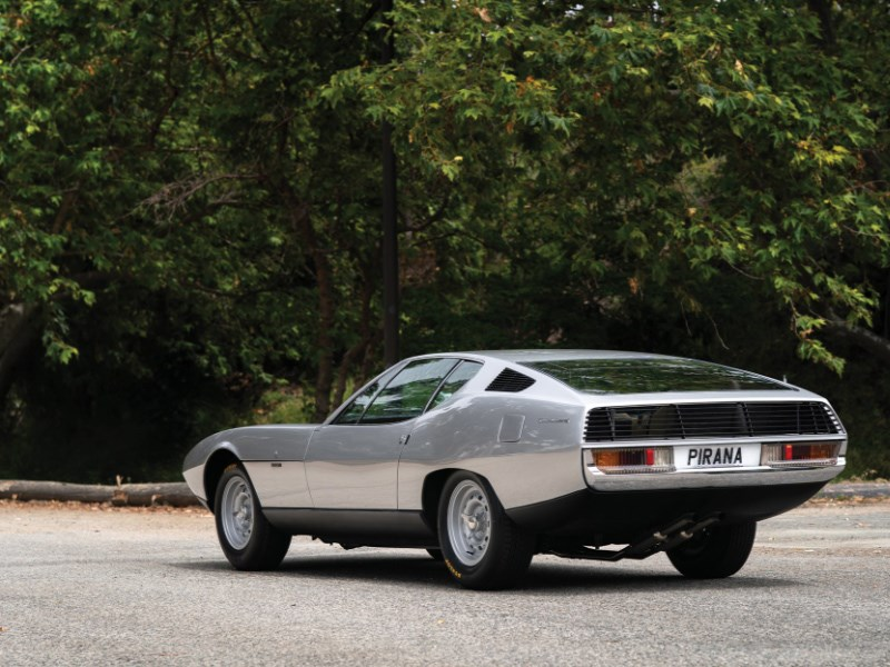 Bertone Pirana rear quarter