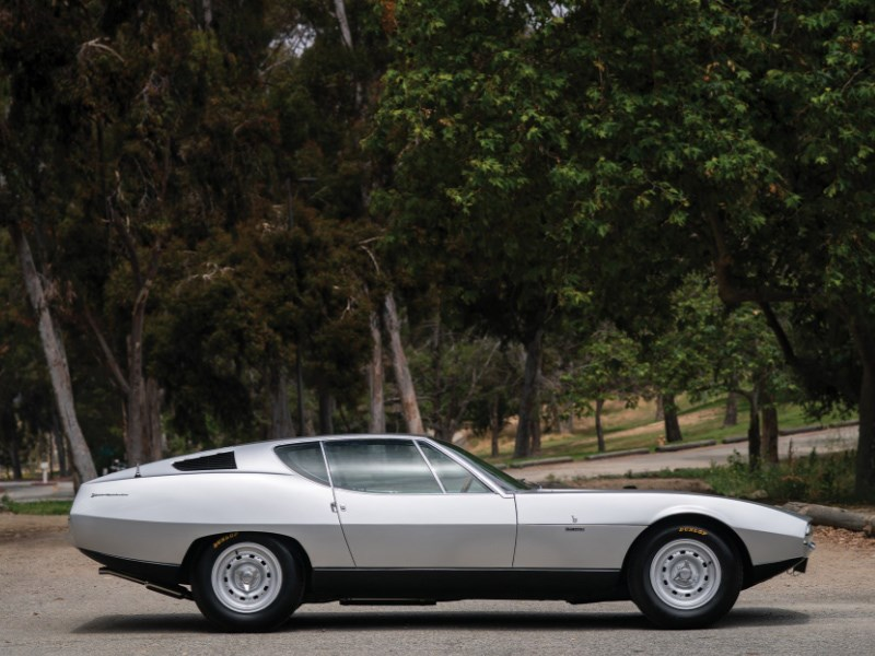 Bertone Pirana side profile