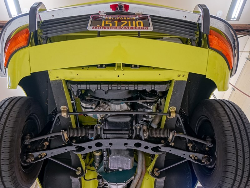 Datsun 240Z sells for 145000 undercarriage