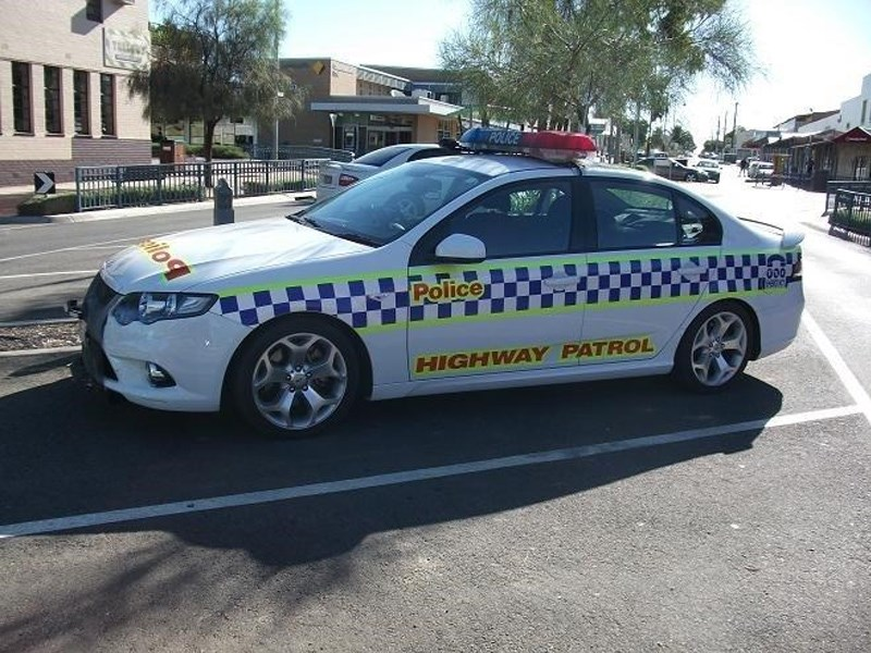 FG XR6 Turbo police