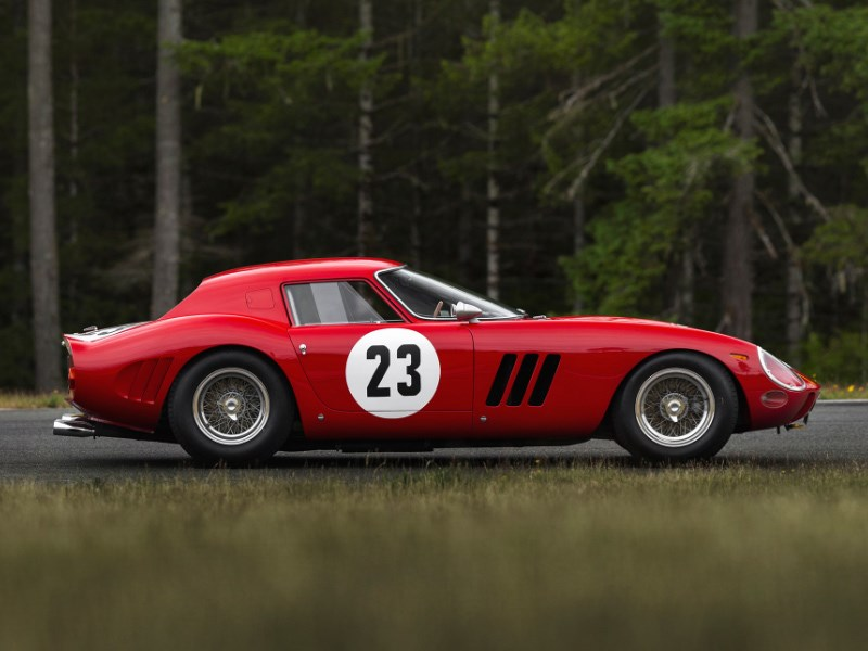 Ferrari 250 GTO Art side