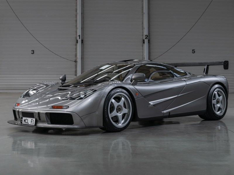 McLaren F1 LM Specification front quarter