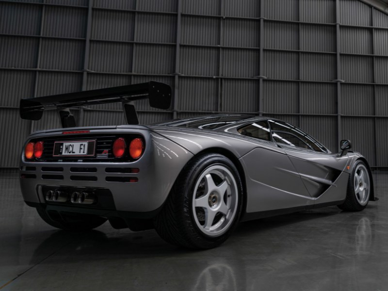 McLaren F1 LM Specification rear quarter