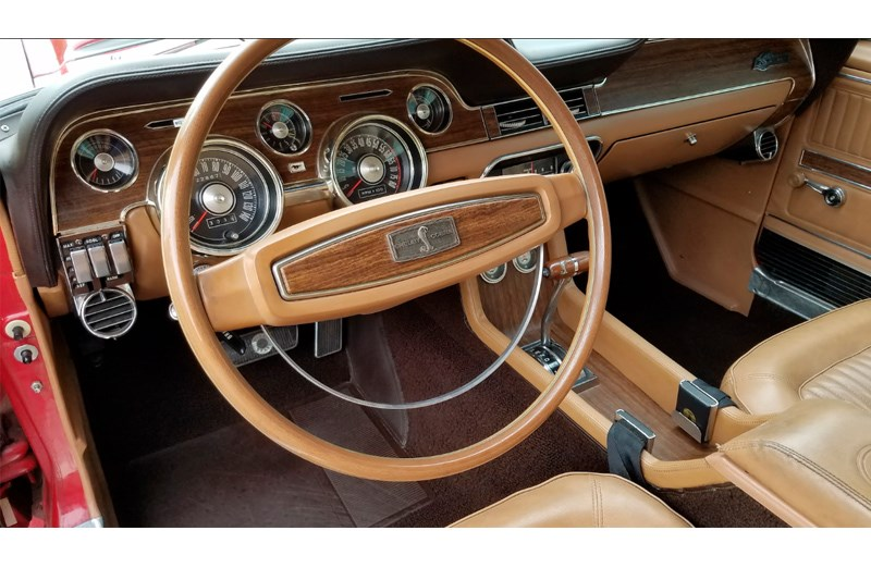 Unrestored 68 gt350 interior