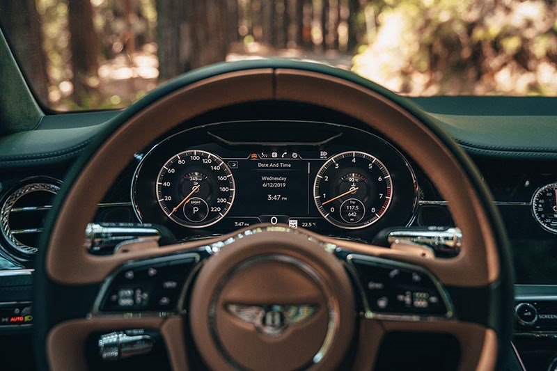bentley continental gt dash