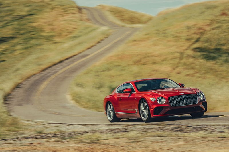 bentley continental gt onroad 4
