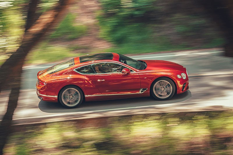 bentley continental gt onroad 5
