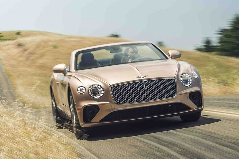 bentley continental gt onroad 6