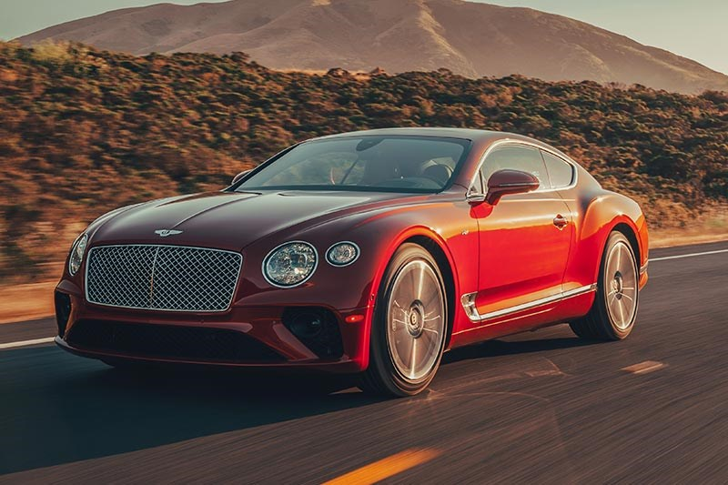 bentley continental gt onroad
