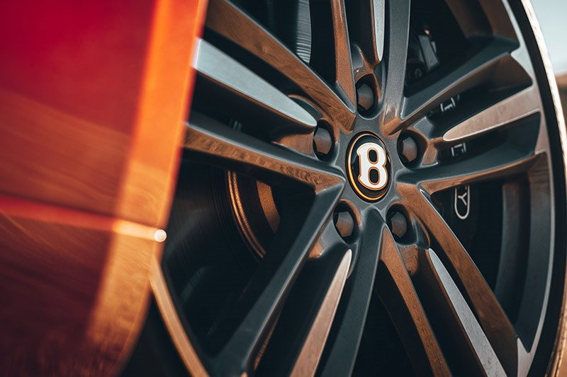 bentley continental gt wheel