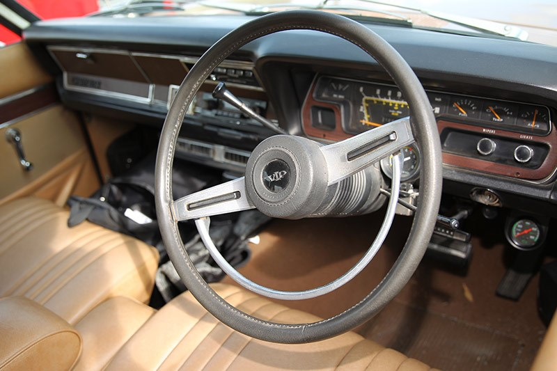 chrysler valiant vg dash