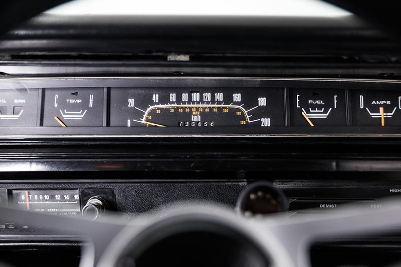 chrysler valiant vj charger dash
