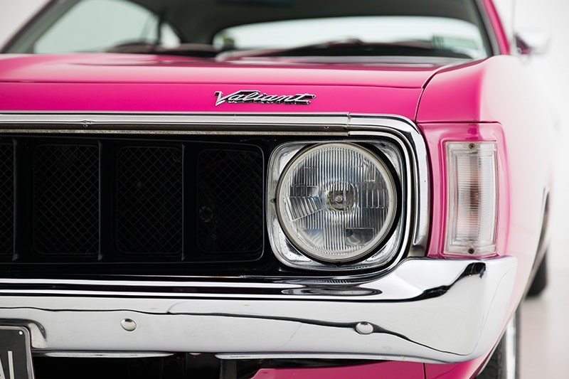 chrysler valiant vj charger headlight