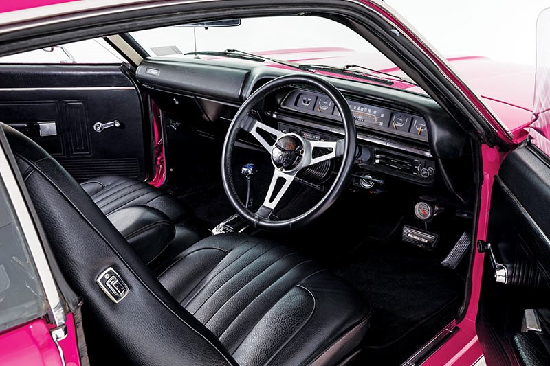 chrysler valiant vj charger interior