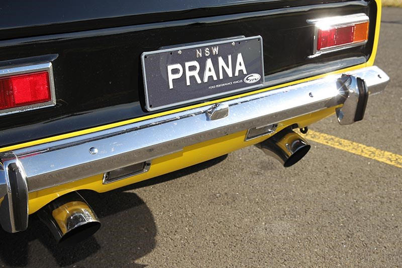 ford capri perana rear