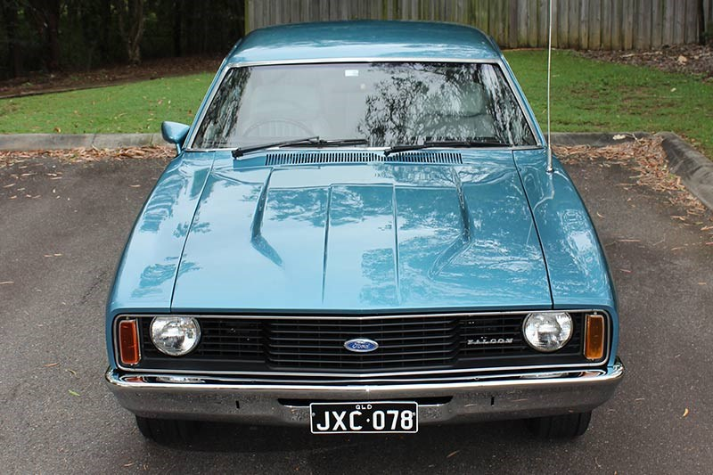 ford falcon xc front