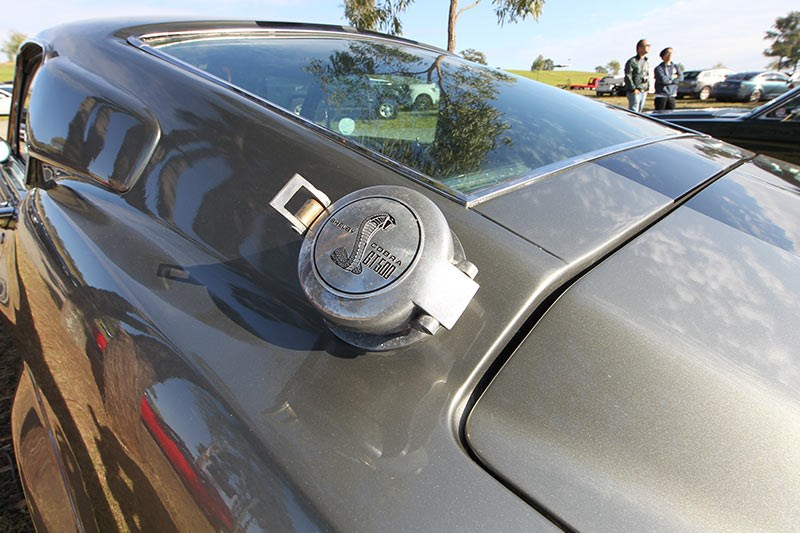 mustang eleanor fuel cap