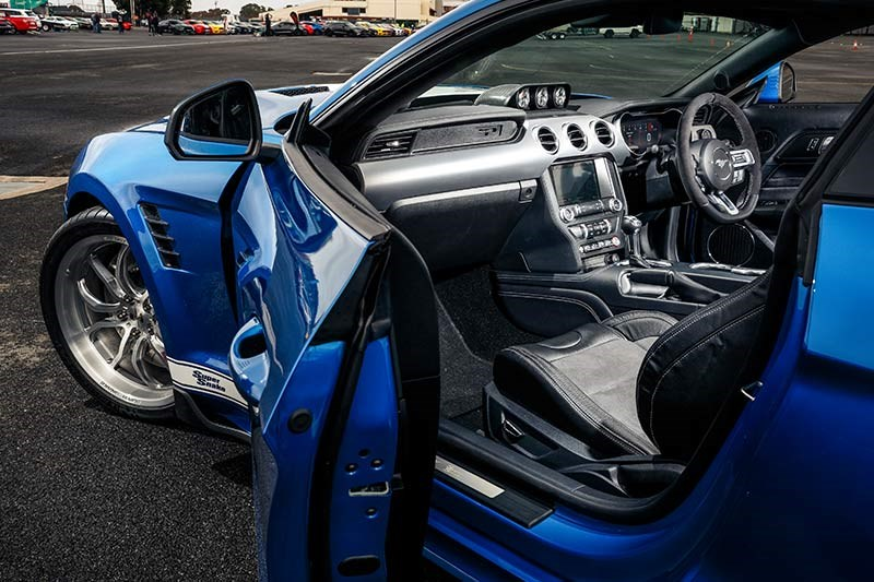 shelby super snake interior