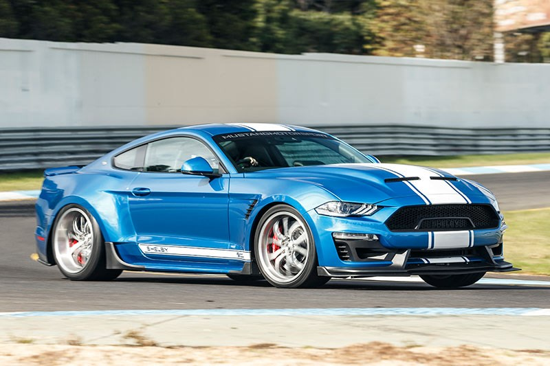 shelby super snake ontrack