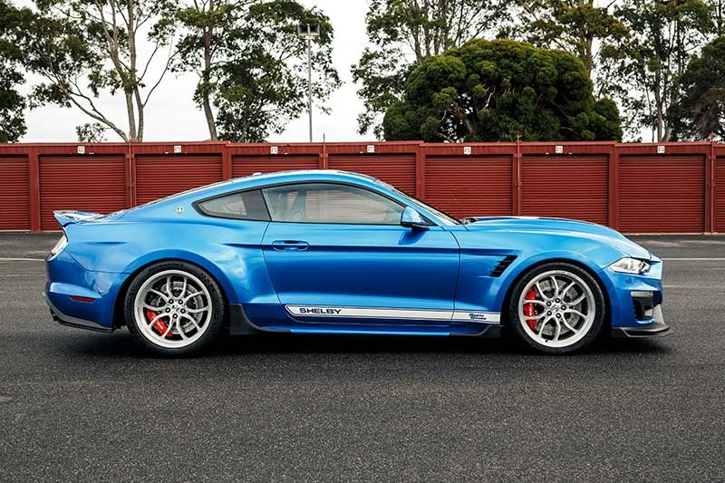 shelby super snake side