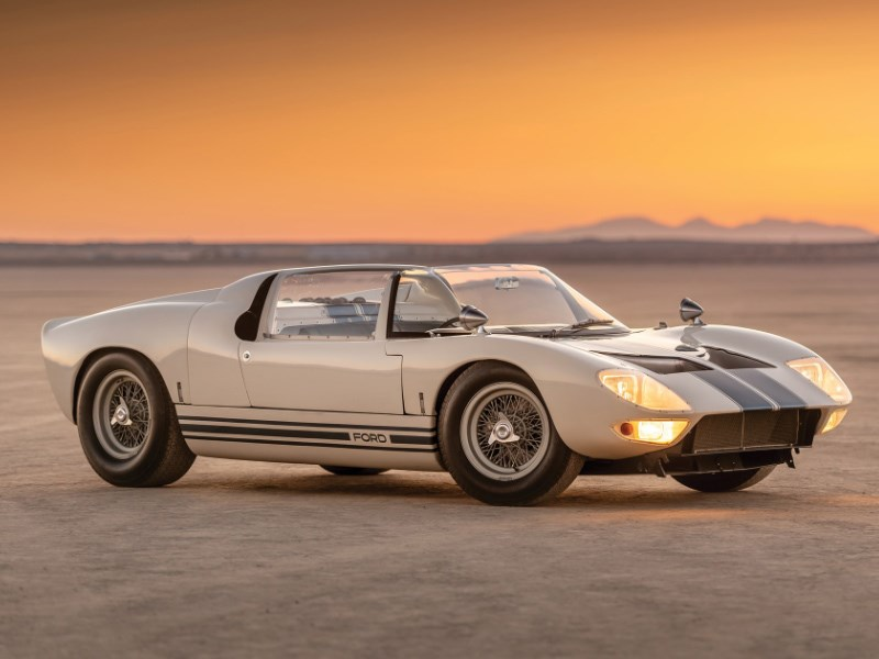 GT40 roadster for auction front