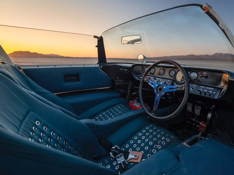 GT40 roadster for auction interior