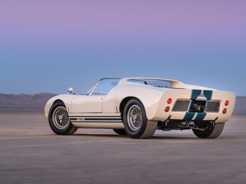 GT40 roadster for auction rear