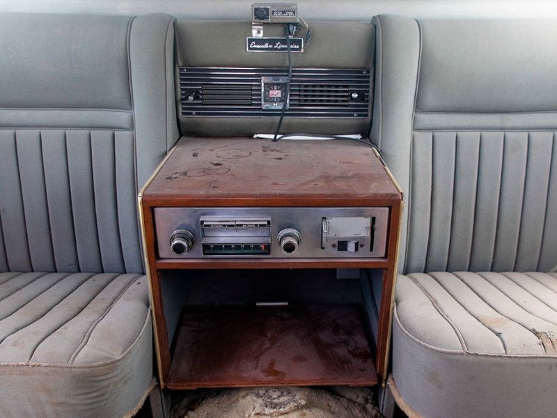 Presley family car interior rear