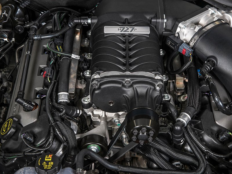 Tickford 77 Special engine