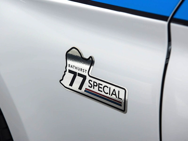 Tickford 77 Special front fender sticker