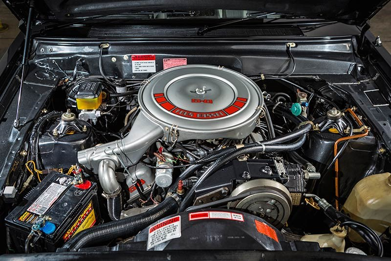 ford falcon esp 24 engine bay