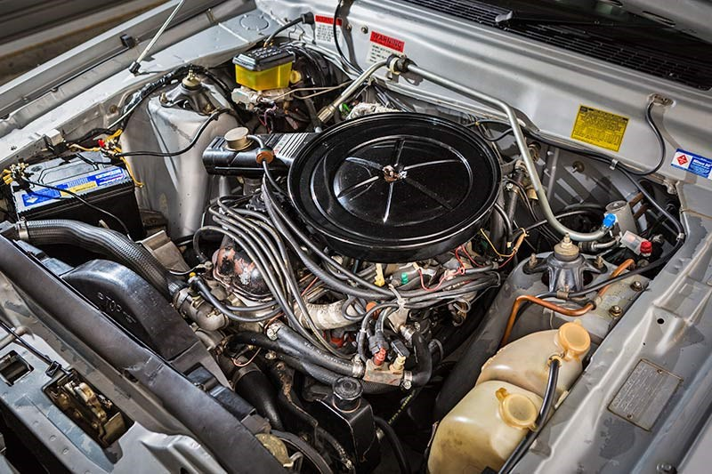 ford falcon esp engine bay