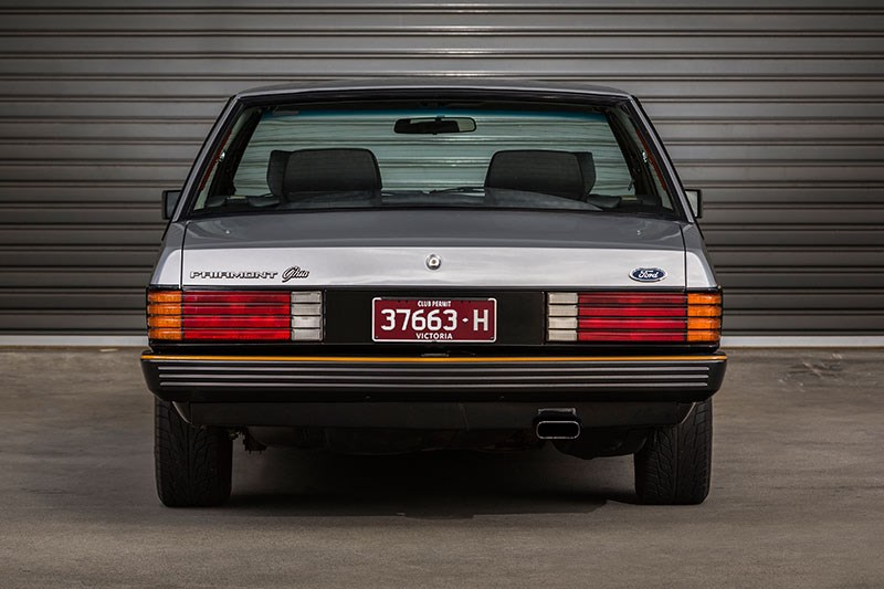 ford falcon esp rear