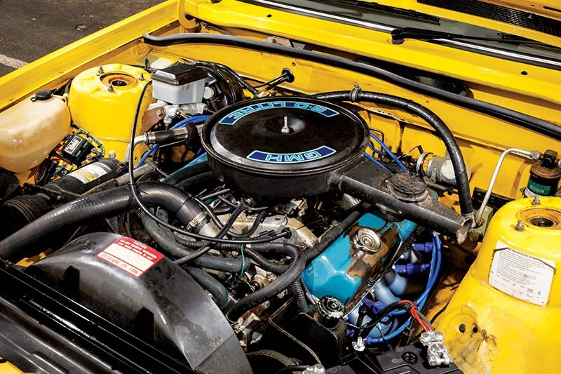 holden commodore vh engine bay 2