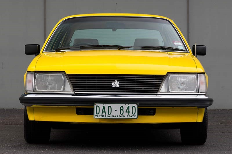 holden commodore vh front