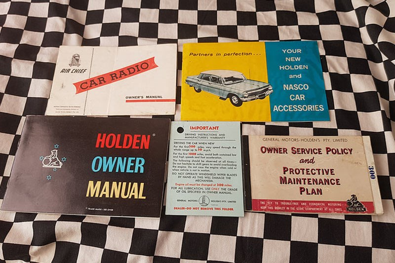 holden factory manuals