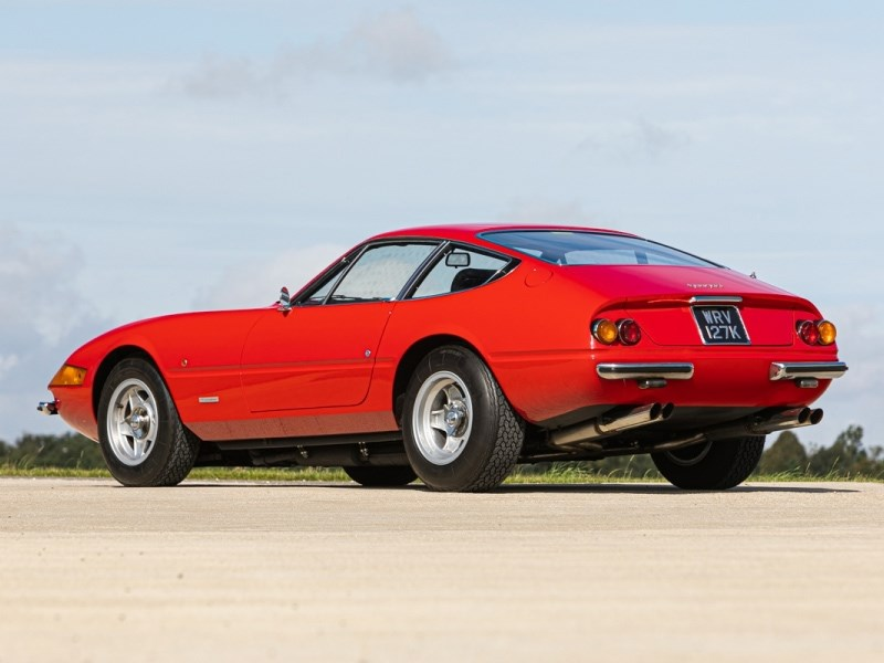 Elton Johns Ferrari Daytona rear