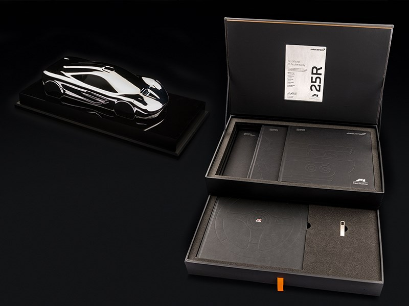 McLaren F1 factory restored documentation
