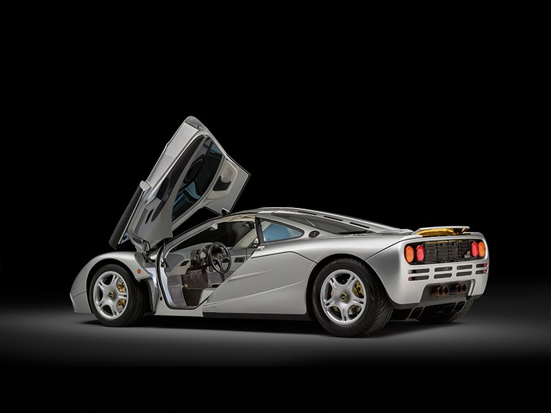 McLaren F1 factory restored rear side