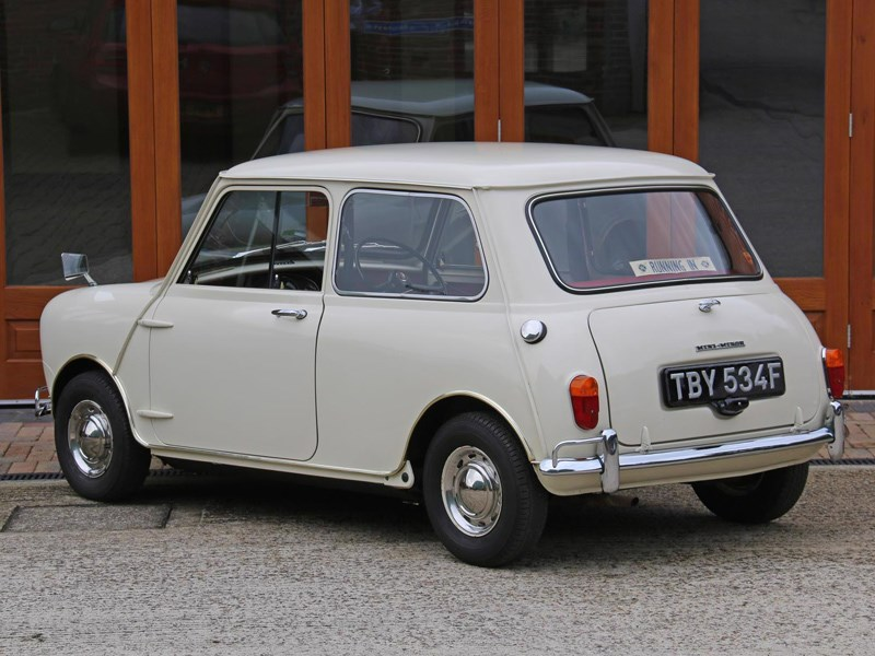 Worlds most original mini rear