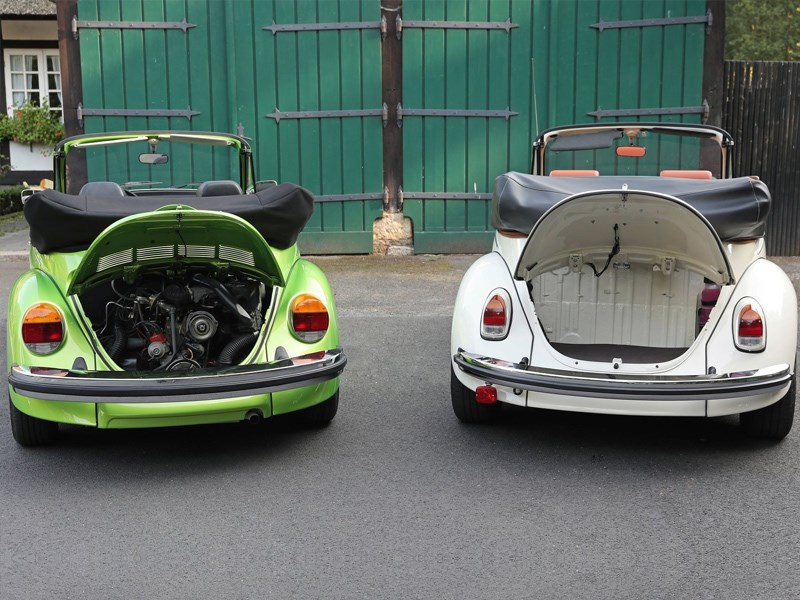 e beetle engine bay