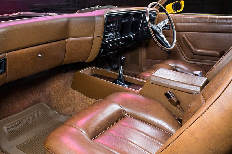 ford falcon xa gt rpo83 coupe interior