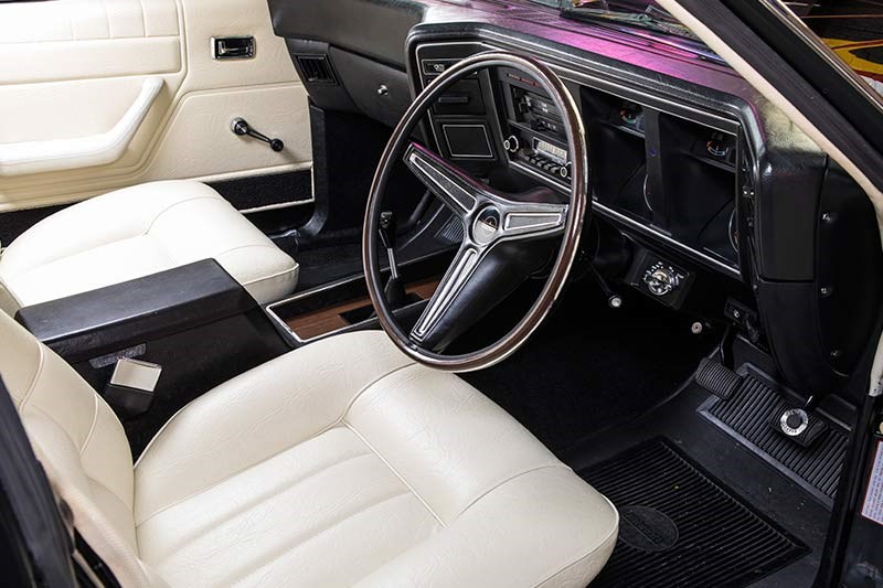 ford falcon xa gt rpo83 sedan interior 2