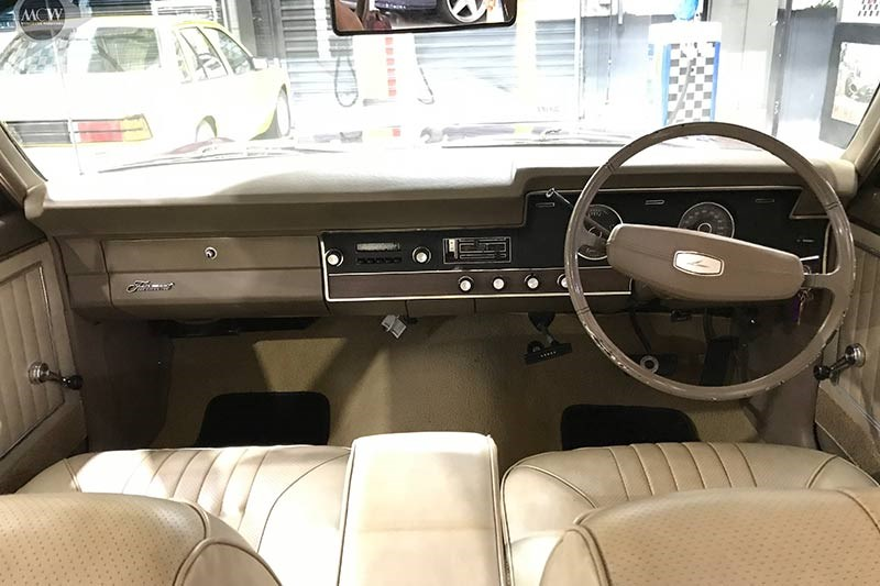 ford xt falcon dash