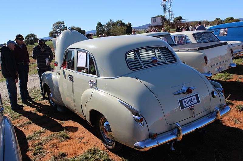 holden fj rear