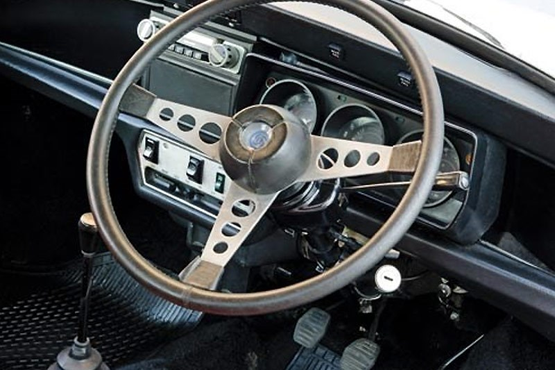 leyland mini clubman dash