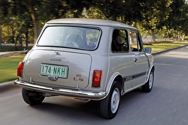 leyland mini clubman rear
